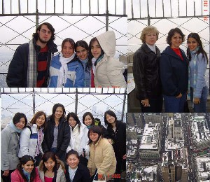 Tour 2005 at the Empire State Bldg