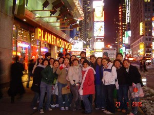 Tour 2005 at Times Square